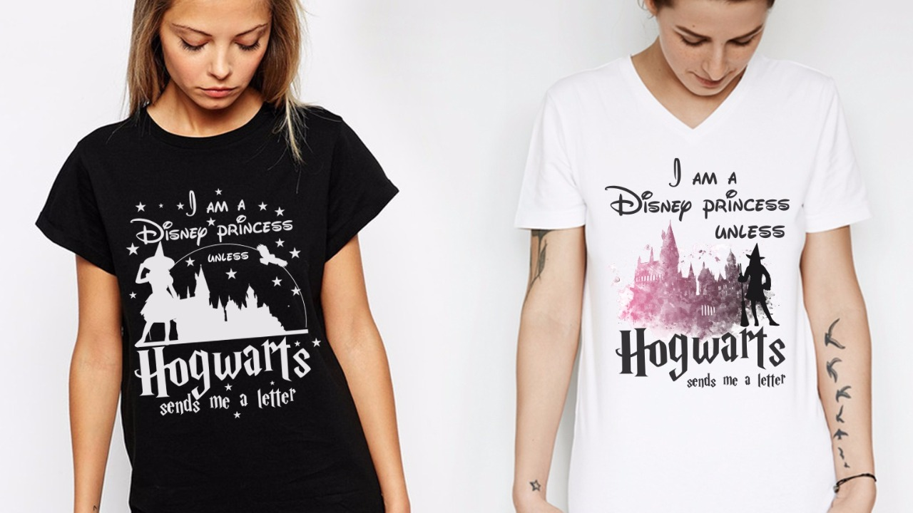 photo about Printable Tshirt Transfers titled No cost Printable Princess Hogwarts T-Blouse Transfers - Orlando